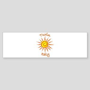 Turin, Italy Bumper Sticker