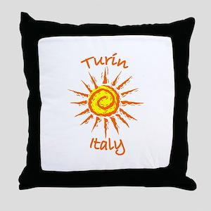 Turin, Italy Throw Pillow
