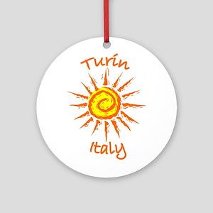 Turin, Italy Ornament (Round)
