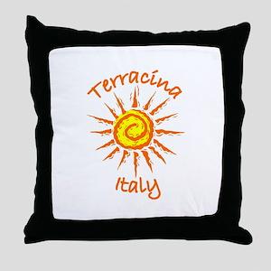Terracina, Italy Throw Pillow