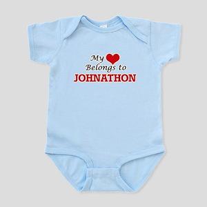 My heart belongs to Johnathon Body Suit
