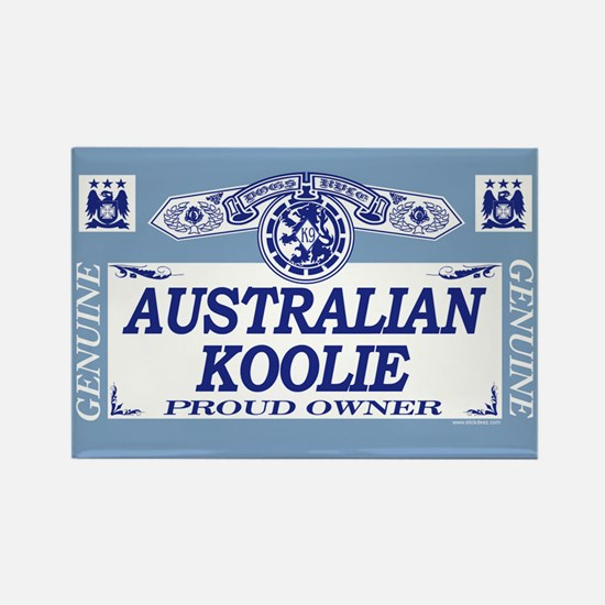 AUSTRALIAN KOOLIE Rectangle Magnet