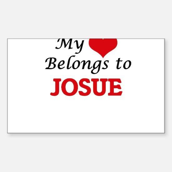 My heart belongs to Josue Decal