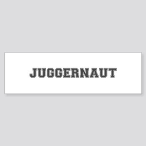 JUGGERNAUT Bumper Sticker