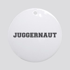 JUGGERNAUT Round Ornament