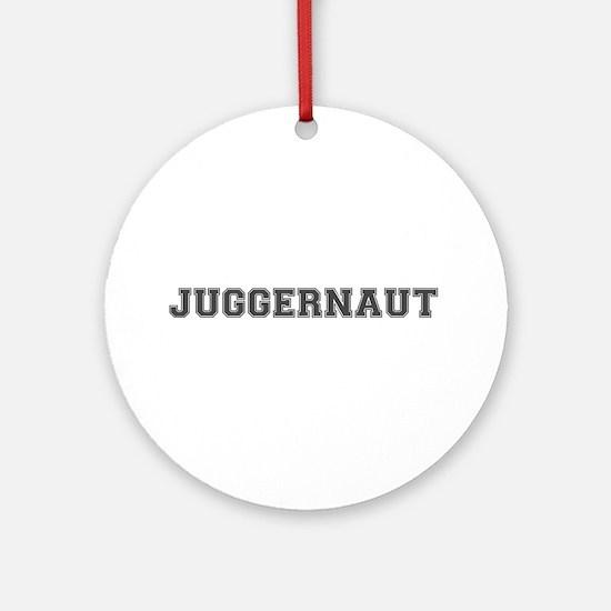 JUGGERNAUT Round Ornament