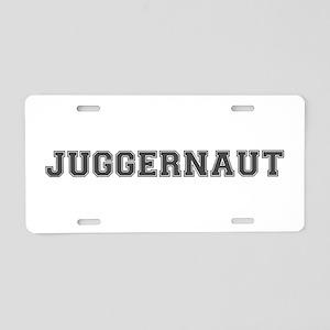 JUGGERNAUT Aluminum License Plate
