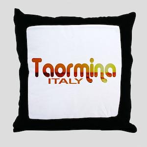 Taormina, Italy Throw Pillow
