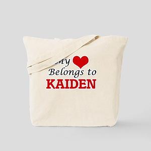 My heart belongs to Kaiden Tote Bag