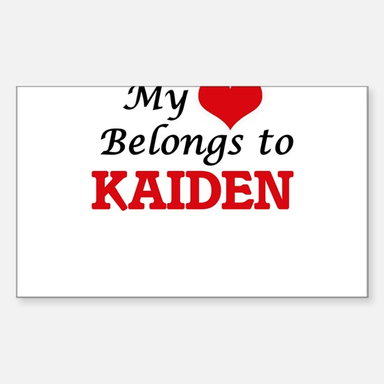 My heart belongs to Kaiden Decal