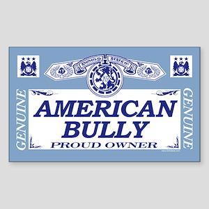 AMERICAN BULLY Rectangle Sticker