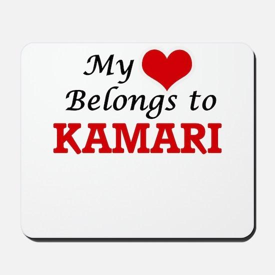 My heart belongs to Kamari Mousepad