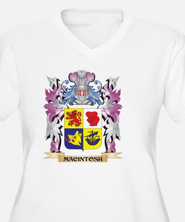 Macintosh Coat of Arms - Family Plus Size T-Shirt