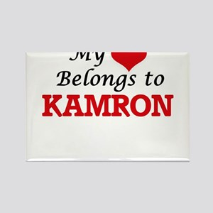 My heart belongs to Kamron Magnets