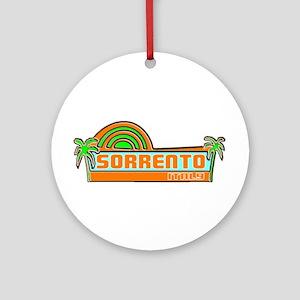 Sorrento, Italy Ornament (Round)