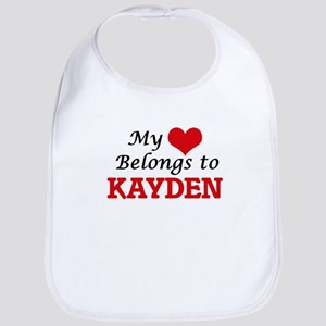 My heart belongs to Kayden Bib