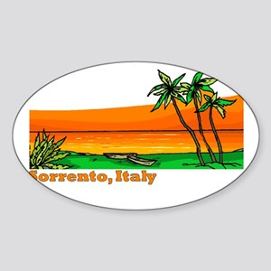 Sorrento, Italy Oval Sticker