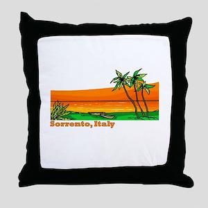 Sorrento, Italy Throw Pillow