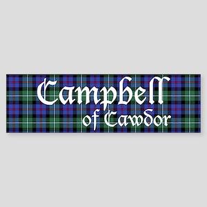 Tartan-Cameron of Cawdor Sticker (Bumper)