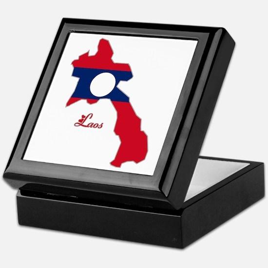 Cool Laos Keepsake Box