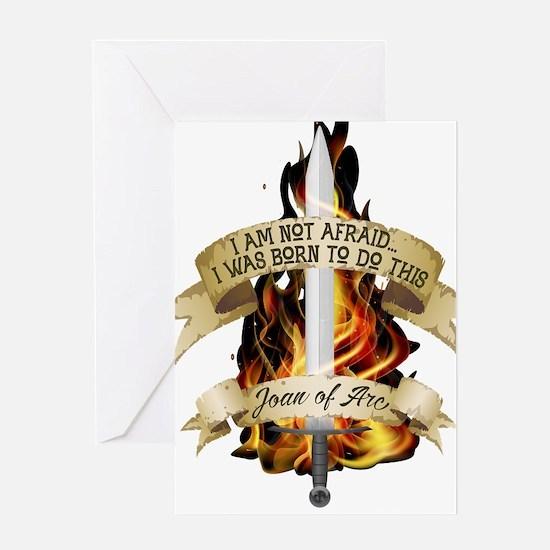 Joan of Arc - Born 2016 Greeting Cards