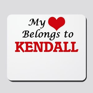 My heart belongs to Kendall Mousepad