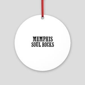 Memphis Soul Rocks Ornament (Round)