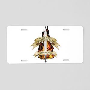 Joan of Arc - Born 2016 Aluminum License Plate