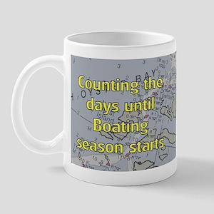Counting the days till Boatin Mug