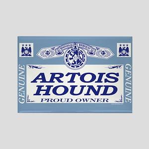 ARTOIS HOUND Rectangle Magnet
