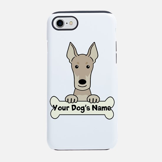 Personalized Doberman iPhone 8/7 Tough Case