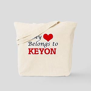 My heart belongs to Keyon Tote Bag