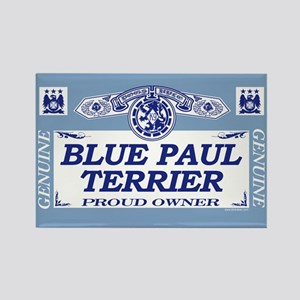 BLUE PAUL TERRIER Rectangle Magnet