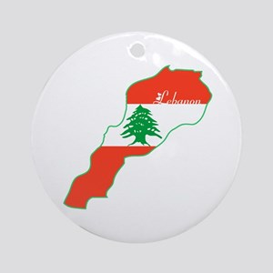 Cool Lebanon Ornament (Round)