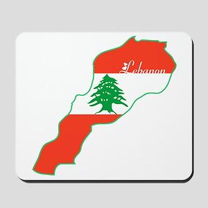 Cool Lebanon Mousepad