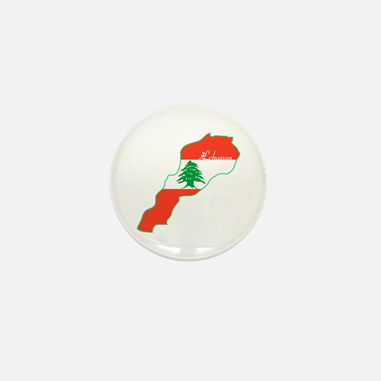 Cool Lebanon Mini Button