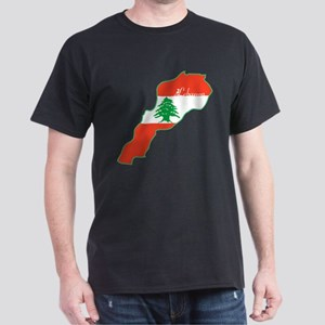 Cool Lebanon Dark T-Shirt