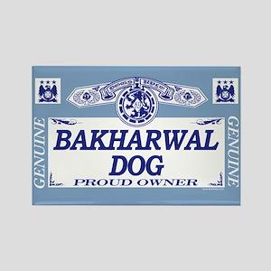 BAKHARWAL DOG Rectangle Magnet