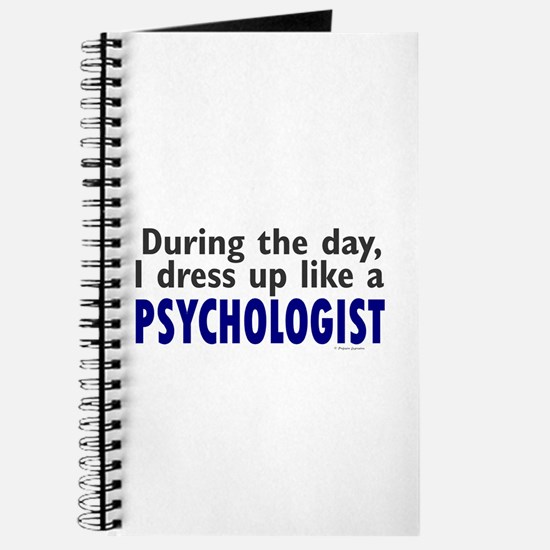 Dress Up Like A Psychologist Journal