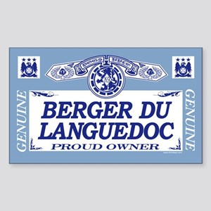 BERGER DU LANGUEDOC Rectangle Sticker