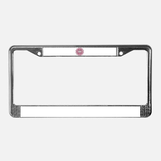 Inspire Love License Plate Frame