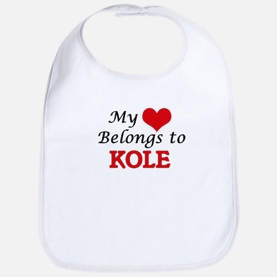 My heart belongs to Kole Bib