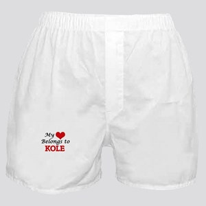 My heart belongs to Kole Boxer Shorts