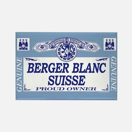 BERGER BLANC SUISSE Rectangle Magnet
