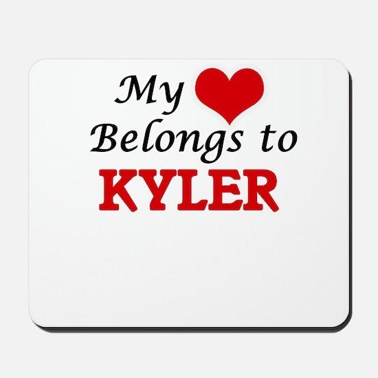 My heart belongs to Kyler Mousepad