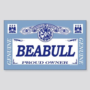BEABULL Rectangle Sticker