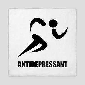 Antidepressant Runner Queen Duvet
