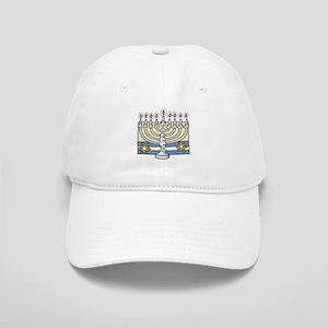 The Menorah & Jewish Stars Cap