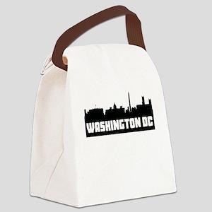 Washington DC Skyline Canvas Lunch Bag