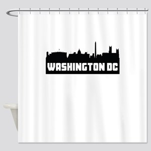 Washington DC Skyline Shower Curtain